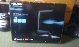 As new bush 19 inch led tv