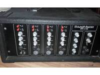 SoundMaster PA amplifier SPA 4150 4 input 150 watt
