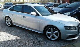 Audi A4 s line manual fsh 12 months mot