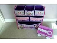 Minnie mouse toy storage