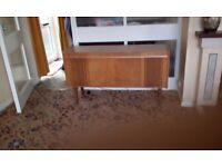 Wooden radiogram cabinet