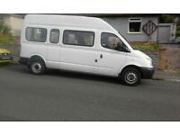 2008 LDV 14 Seats Maxus Mini Bus Only 31k Miles