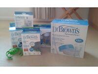 Dr. Browns bottle feeding kit