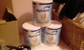 Lactose free Aptamil baby milk