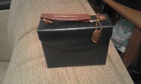 genuine leather jewellery box