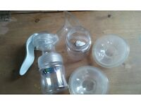Avent breast pump and shells - FREE