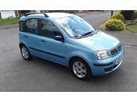 Fiat panda 1.2 petrol, eleganza. 5 door hatcback, metallic blue drives great very clean and tidy.