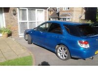 Impreza wrx wagon for sale service history ,stainless steel decat exhaust 276 bhp great family car