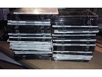64 Empty Slim And Super Slim CD Jewel Cases