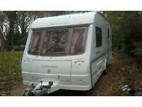 Luxury 2 berth with awning and mover