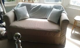 Ikea Sofa bed hardly used v.good condition.