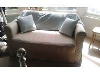 Ikea Sofa bed hardly used v.good condition.