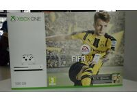 New Xbox One S console with FIFA 17