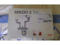 Franke Spazio 2 plumbing kit
