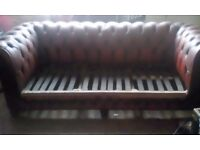 Chesterfield sofa/settee