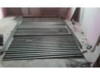 Galvanized roller manual shutter