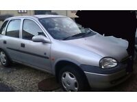 Vauxhall corsa for spares or repaires