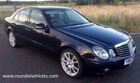 "STUNNING 57 plate Mercedes E220 cdi DIESEL auto EX CHAUFFEUR CAR 18"" alloys, leather, long mot MINT"