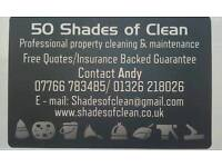 50 Shades of Clean (Professional Property Cleaning & Maintenance )