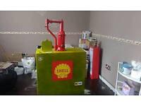Vintage oil pump