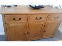 Beautiful Solid Oak sideboard
