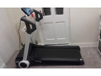 reebok i run treadmill in black