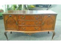 vintage sideboard-dressing table-side cabinet c.1930. C. & J. Brown of Newington (House Furnishers)