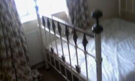 bed. Victorian