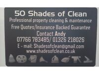 50 Shades of Clean (Professional Cleaning & Property Maintenance)