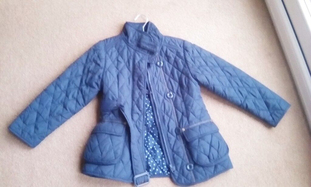 Next girls age 5-6 quilted jacket