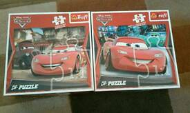 Two lighting mcqueen puzzles for sale