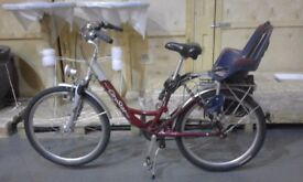 Ladies Dutch Bike with child seat