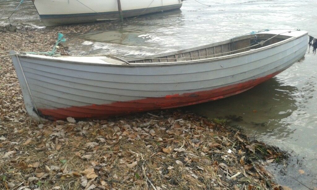 Classic 14ft Wooden Clinker Boat For Restoration Project In Truro Cornwall Gumtree