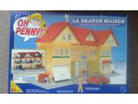 Oh Penny, mansion, tree house, camper , street market and milk van