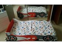 Car bed for toddler