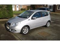 Chevrolet avos 1.4 very cheap to run.only 2 owners and 61,000 miles, 1.4 vauxhall corsa engine,