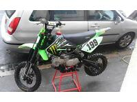 pitbike stomp z2r 140r fast as fukk 700ono