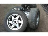 Toyota Rav 4 Alloy Wheels and Tyers