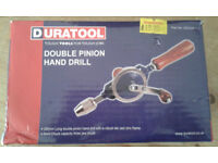 Double Pinion Hand Drill by Duratool