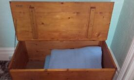 Varnished Storage Box