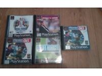 Various PlayStation 1 games