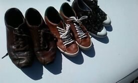MENS PART WORN SIZE 7 DESIGNER TRAINERS ROCKPORT LACOSTE FREDPERRY
