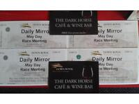 DOWN ROYAL RACE TICKETS MAY DAY