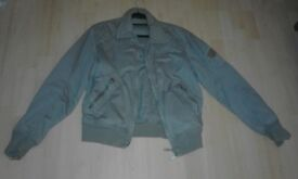 Men Grey DISEL zipped jacket.