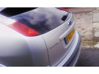 silver 57 plate petrol ford focus