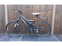 "Black & White Muddy Fox Mountain Trail Bike - 26"" Wheel - Great Condition - KING'S LYNN AREA"