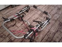 Rear mounting 3 bike cycle carrier (Halfords brand)