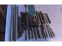 S D S tungstone drill bits.