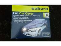 Car cover, new, in the box