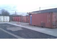 water tight shipping containers to rent